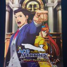 SDCC 2013 Ace Attorney Dual Destinies Promo Poster (Autographed)
