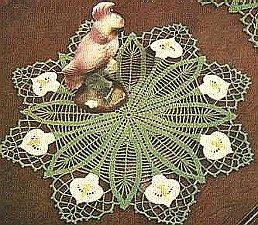 Flower Doilies Vintage Crochet Collection