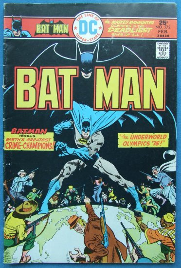 BATMAN NO 272  VOL. 37  FEBRUARY 1976 DC COMICS