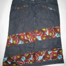 Jeans skirt shorter (bl)
