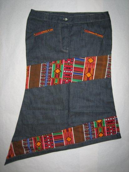 Specialty jeans skirt shorter