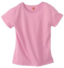 Girl's Hanes Stayclean Basic Tee