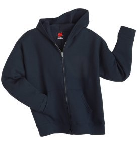 Girl's Hanes Stayclean Zip Hood
