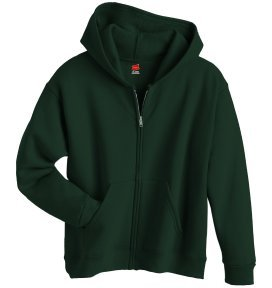 Boy's Hanes Stayclean Zip-front Hood