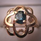 Beautiful Vintage Sapphire Ring, Estate 14K Yellow Gold from the Fine Jewelry Estate Collection