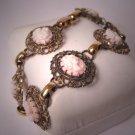 Antique Cameo Bracelet Vintage Victorian