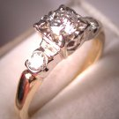 Antique Diamond Wedding Ring Vintage