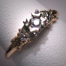 A Superb Antique Diamond Wedding Band Ring, Edwardian - Art Deco