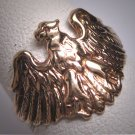 Antique Gold Eagle Ring Vintage Victorian European Wedding Mens Womens