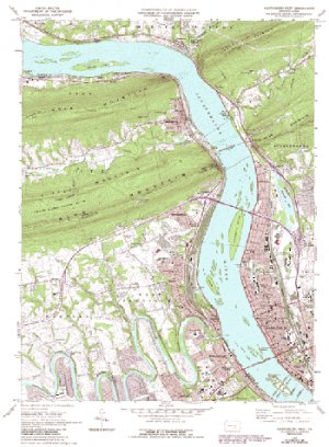 Appalachian Trail Topographic Maps USGS 24K digital DRG