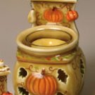 Fall Pumpkin Votive Stove