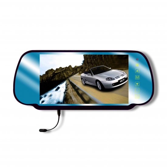 "7"" inch rear view mirror LCD w/ Bluetooth"