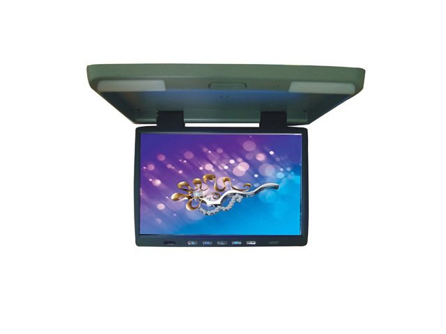 "15.4"" IR LCD TFT Screen Overhead Flip-Down Monitor"