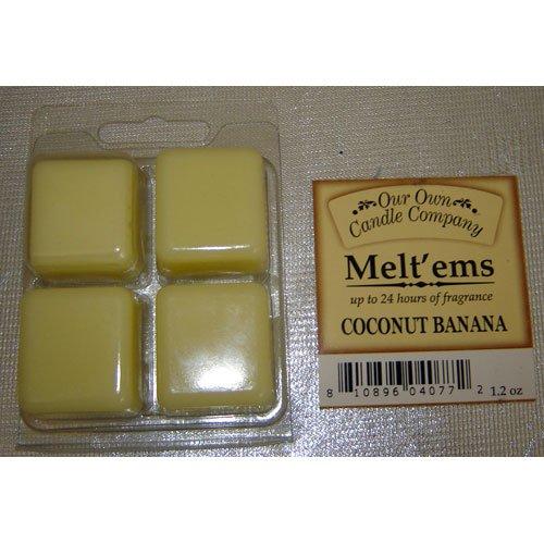 COCONUT BANANA Wax Melt
