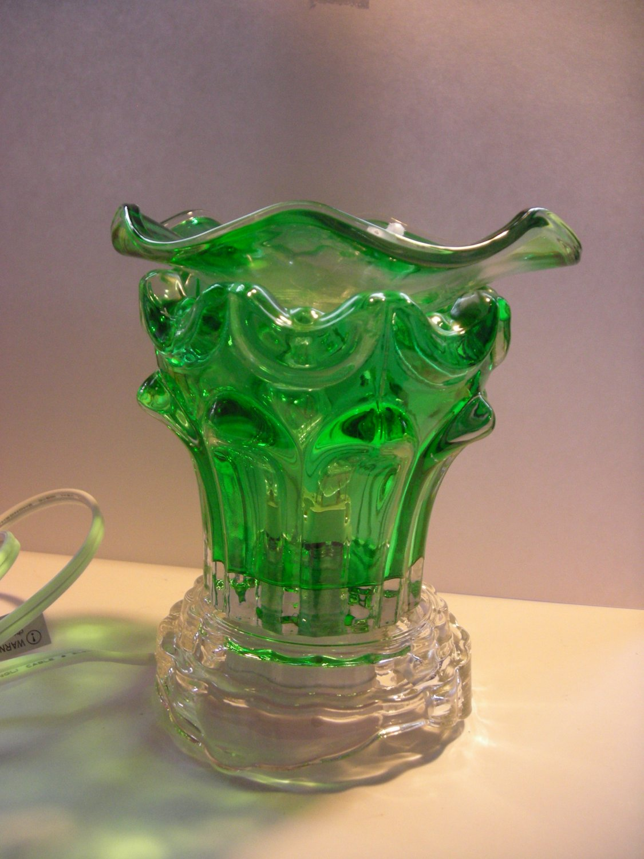 Green Lip Crystal ELECTRIC OIL WARMER