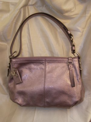 BRAND NEW Coach MIA PATENT CONVERTIBLE SHOULDER BAG - Style #15728