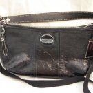 BRAND NEW COACH Patent Signature Leather SDemi Crossbody tote handbag purse - Style #15141