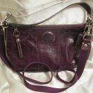 Brand New Coach 15141 Patent Signature Leather SDemi Crossbody tote handbag purse