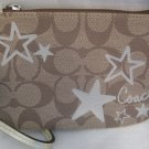 Coach 46919 Signature Heritage Star Wristlet Wallet Purse