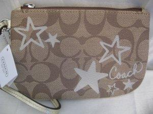 Coach 46919 Signature Heritage Star Wristlet Wallet Purse