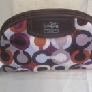 COACH BRAND NEW MADISON GRAPHIC ART COSMETIC CASE MULTI CHERRY 46733