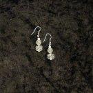 Lily White: Earrings - Short Length