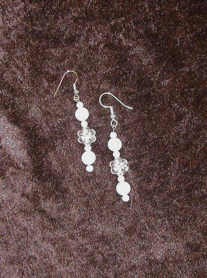 Lily White: Earrings - Long Length