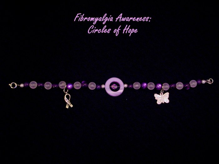 Circles of Hope: Bracelet - Non-Stretch With A Clasp