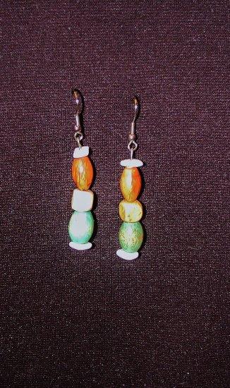Wood & Shells Earrings