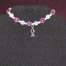 Hope! - Bracelet for Breast Cancer Awareness – Full Set w/Stretch Bracelet
