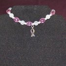 Hope! - Bracelet for Breast Cancer Awareness – Full Set w/Stretch Bracelet