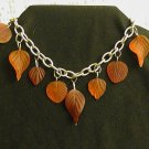 Copper Leaves Bracelet