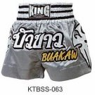 Muay thai Boxing Shorts (100% Satin) Bua-Kaw K-1 Champion!! Top Sales!! KTBSS-063