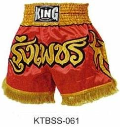 Muay Thai Boxing shorts  (Satin)  KTBSS-061