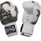 BOXING GLOVES FANCY BY TOP KING PROFESSIONAL (TKBGEM-01WH)