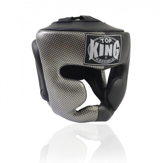 HEAD GUARD FANCY BY TOP KING PROFESSIONAL (TKHGEM-02BK)