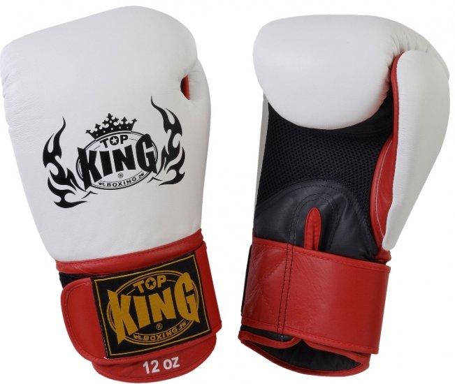 King Professional Boxing Gloves Velcro Air (KBGAV)