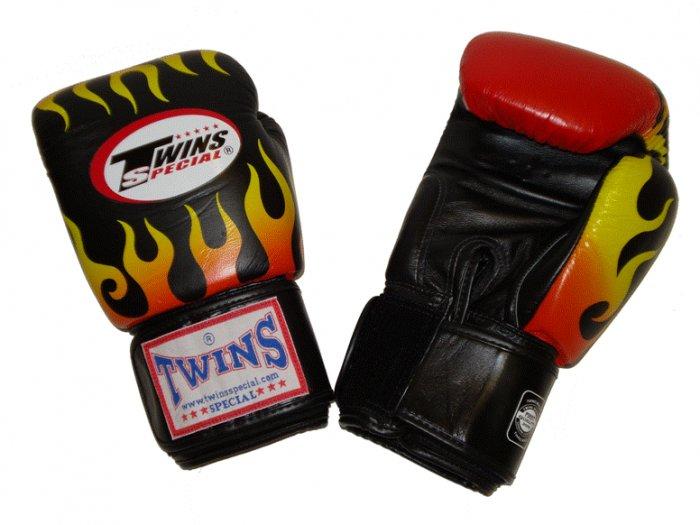 TWINS FANCY GLOVES (FBGV-7) Fire Flame