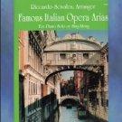 Famous Italian Opera Arias Solo Piano Riccardo Scivales