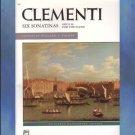 Six Sonatinas Opus 36 For The Piano Muzio Clementi