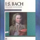 J. S. Bach Two-Part Inventions Willard Palmer Editor