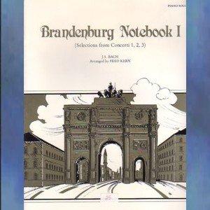 Brandenburg Notebook I Solo Piano Johann Sebastian Bach