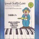 Speak Softly Love Love Theme From The Godfather Dan Coates Arranger