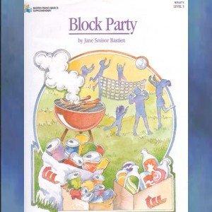 Block Party Level 3 Piano Solo Jane Bastien