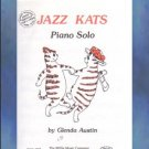Jazz Kats Early Intermediate Piano Solo Glenda Austin