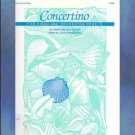 Concertino For Piano And Orchestra Op. 73 Hummel NFMC Selection