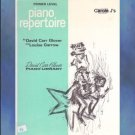 David Carr Glover Piano Library Repertoire Primer Level