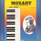 Mozart 14 of His Easiest Pieces Easy Piano