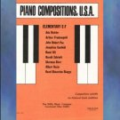 Piano Compositions U. S. A. Elementary E-F Irl Allison