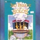 Bastien 3rd Parade of Solos Level 3 Solo Piano